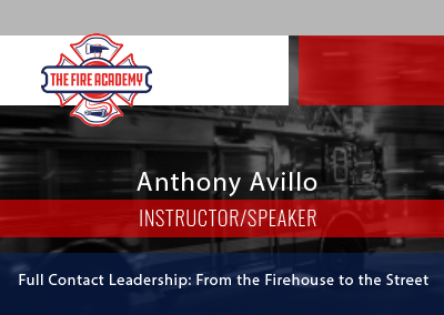 Full Contact Leadership: From the Firehouse to the Street