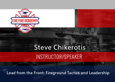 Lead from the Front: Fireground Tactics and Leadership