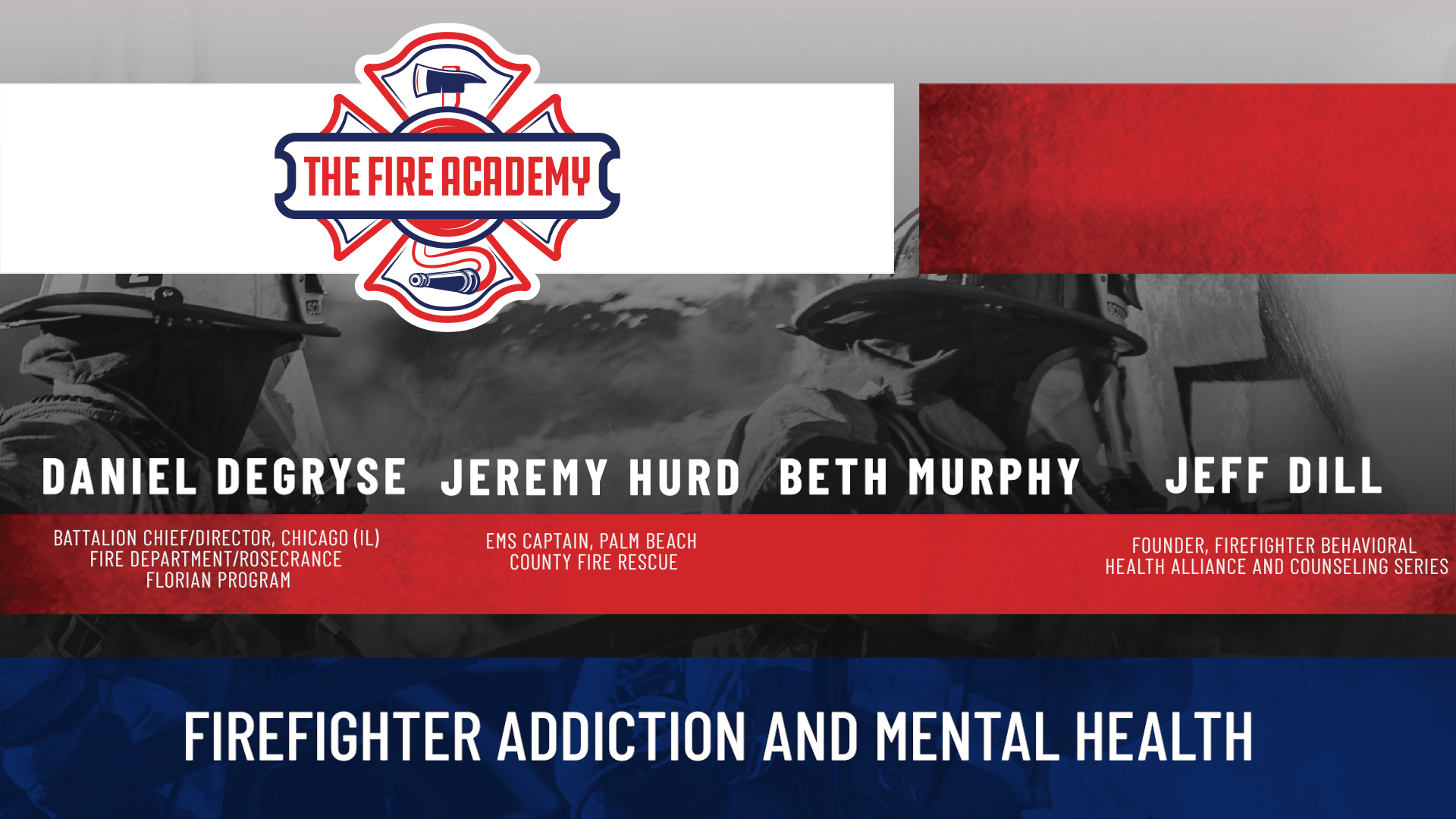 Firefighter Addiction and Mental Health