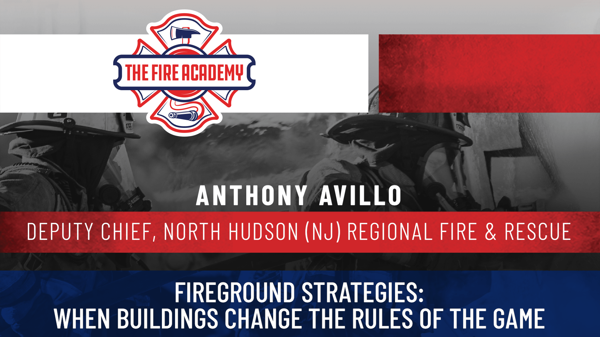Fireground Strategies: When Buildings Change the Rules of the Game