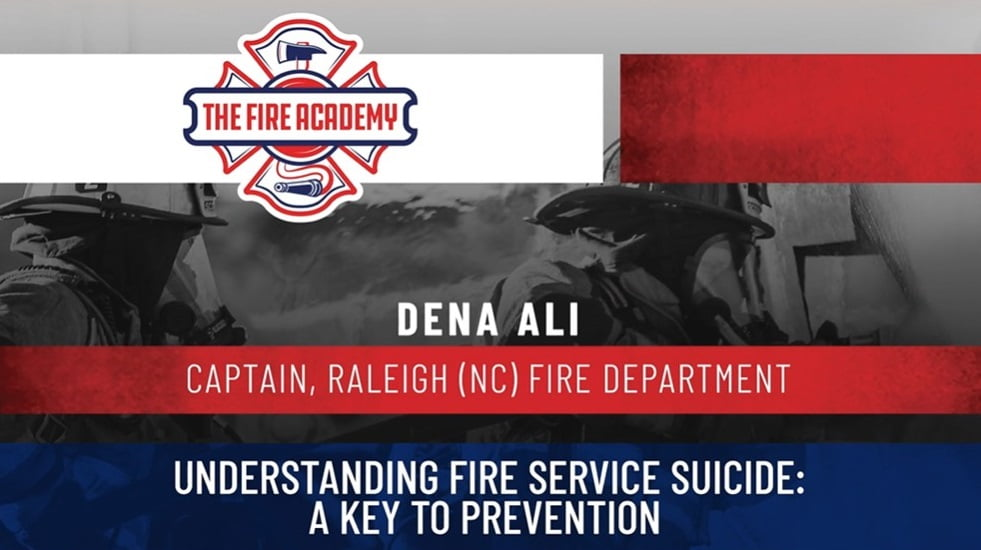 Understanding Fire Service Suicide: A Key to Prevention