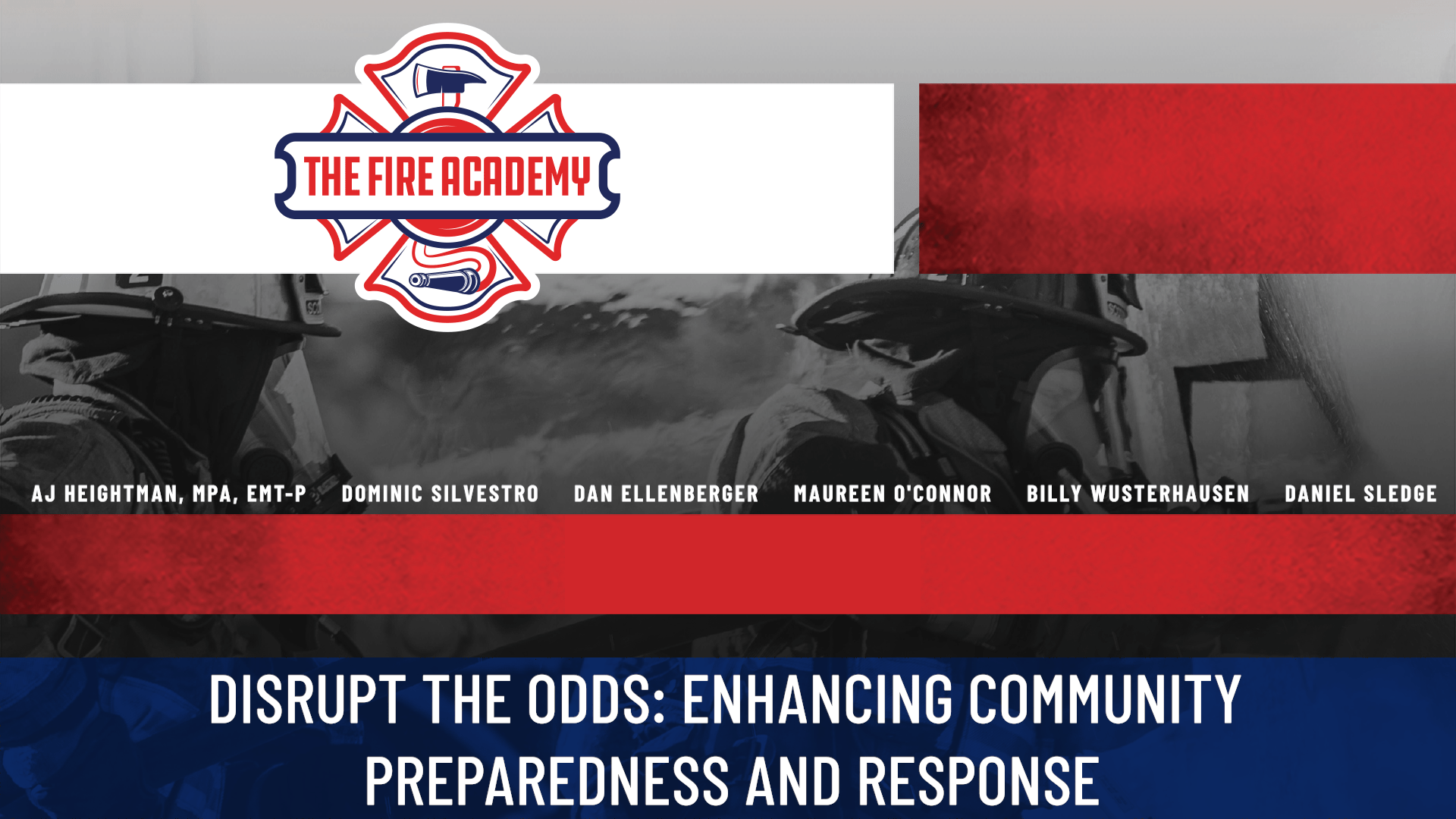 Disrupt the Odds: Enhancing Community Preparedness and Response