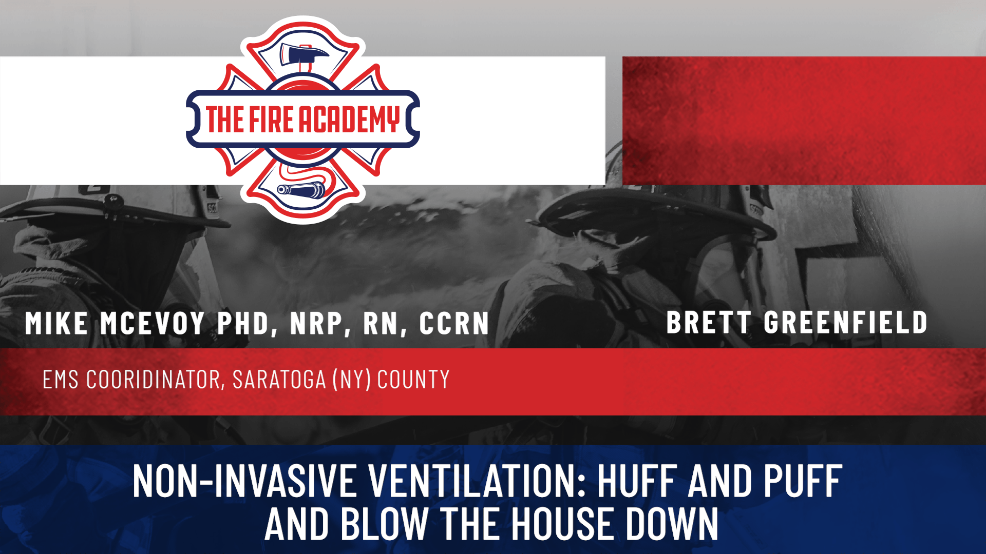 Non-Invasive Ventilation: Huff and Puff and Blow the House Down